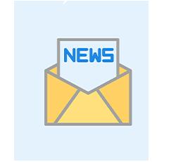 Newsletter-Spot mit kursfinder